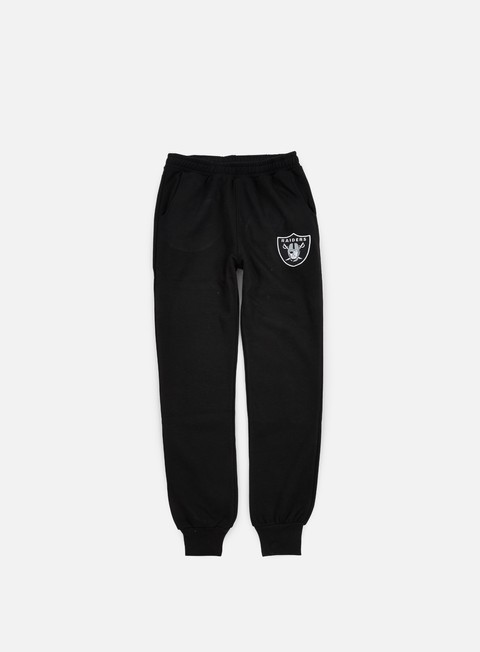 pantaloni majestic renod basic slim jogger oakland raiders black