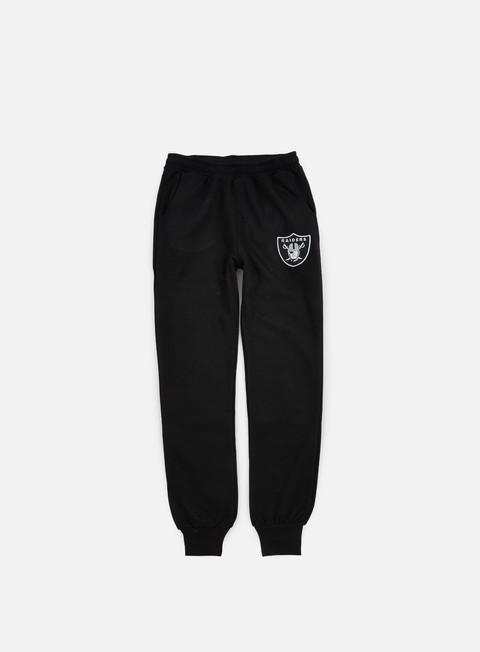 Pantaloni Jogger Majestic Renod Basic Slim Jogger Oakland Raiders