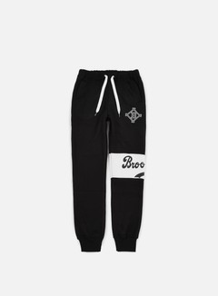 Majestic - Tilted Fashion Wrap Font Jogger Brooklyn Dodgers, Black 1