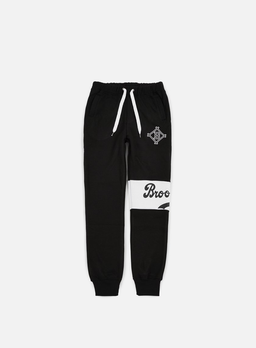 Majestic - Tilted Fashion Wrap Font Jogger Brooklyn Dodgers, Black