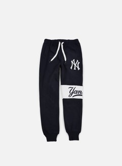 Majestic - Tilted Fashion Wrap Font Jogger NY Yankees, Navy 1