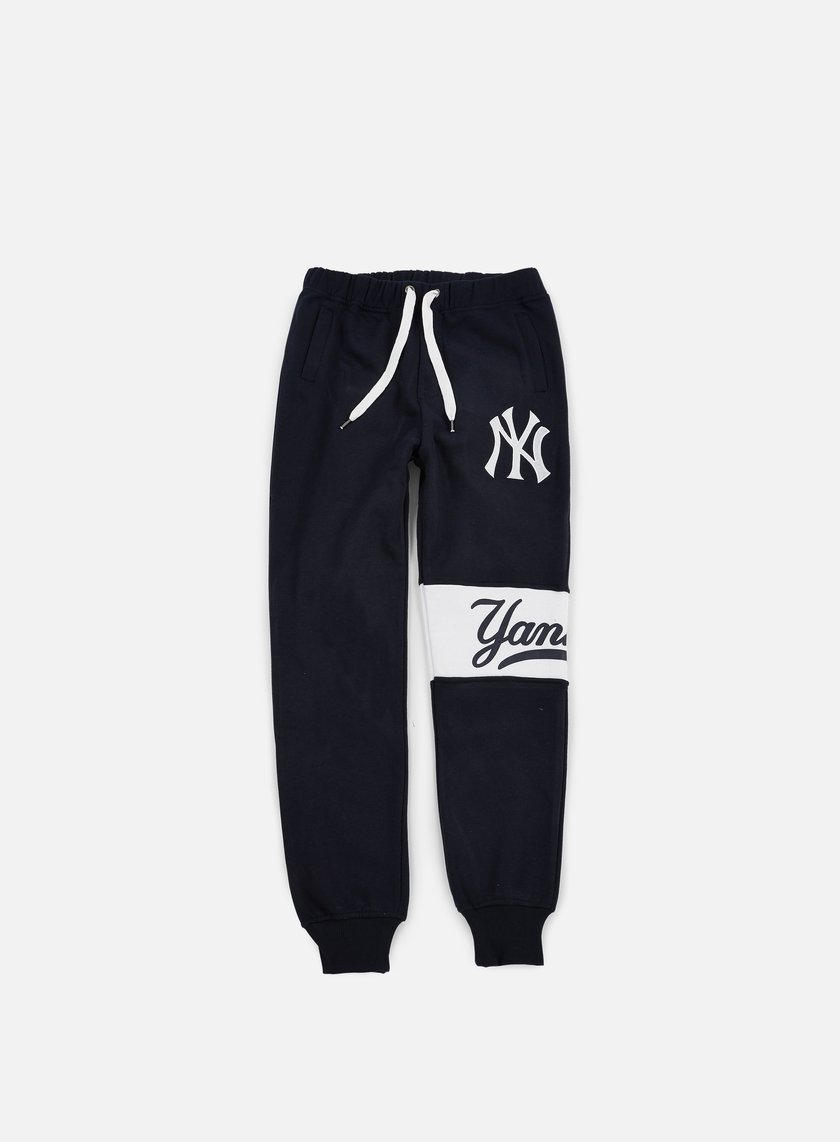 Majestic - Tilted Fashion Wrap Font Jogger NY Yankees, Navy