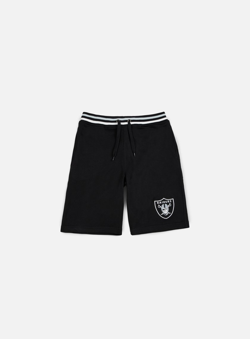 Majestic - Wrest Tipped Loopback Short Oakland Raiders, Black