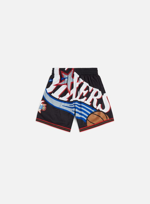 Shorts Mitchell & Ness Big Face Shorts Philadelphia 76ers