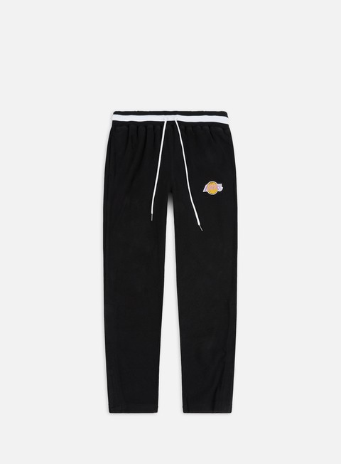 Mitchell & Ness Reversed Fleece Tearway Pant LA Lakers