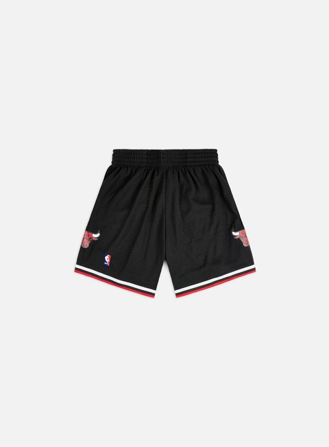 pantaloni mitchell e ness swingman shorts chicago bulls black