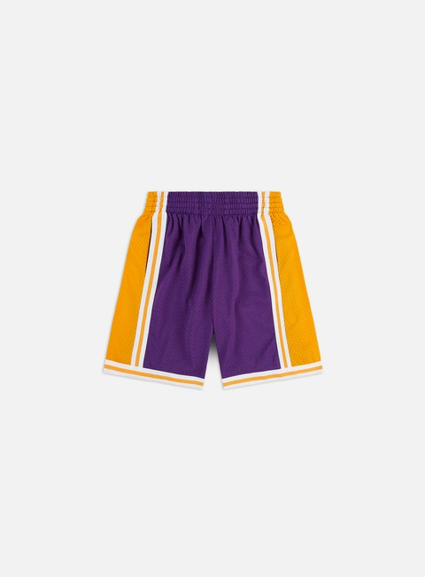 Pantaloncini Corti Mitchell & Ness Swingman Shorts LA Lakers