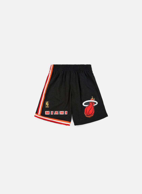 Mitchell & Ness Swingman Shorts Miami Heat
