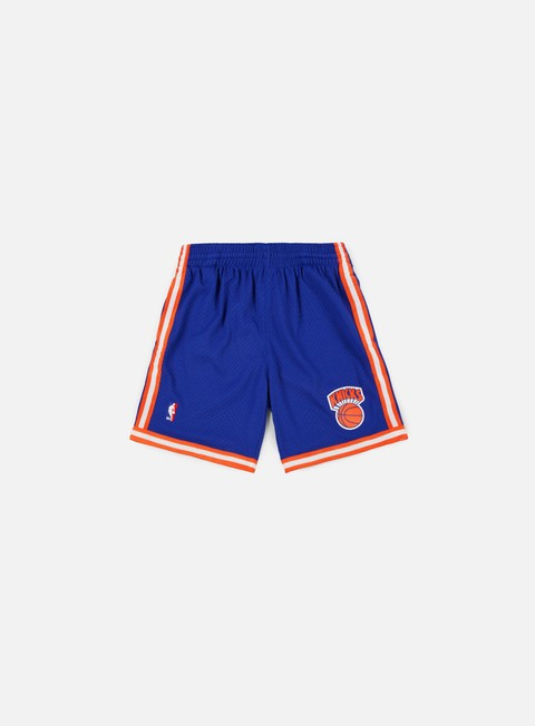 pantaloni mitchell e ness swingman shorts ny knicks royal