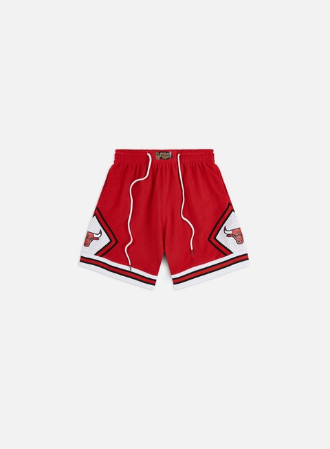 Pantaloncini Mitchell & Ness Warm Up Fleece Shorts Chicago Bulls