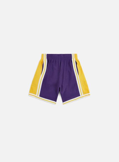 Shorts Mitchell & Ness Warm Up Fleece Shorts LA Lakers