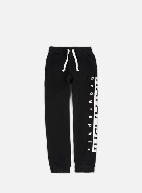 pantaloni napapijri maget fleece pant black
