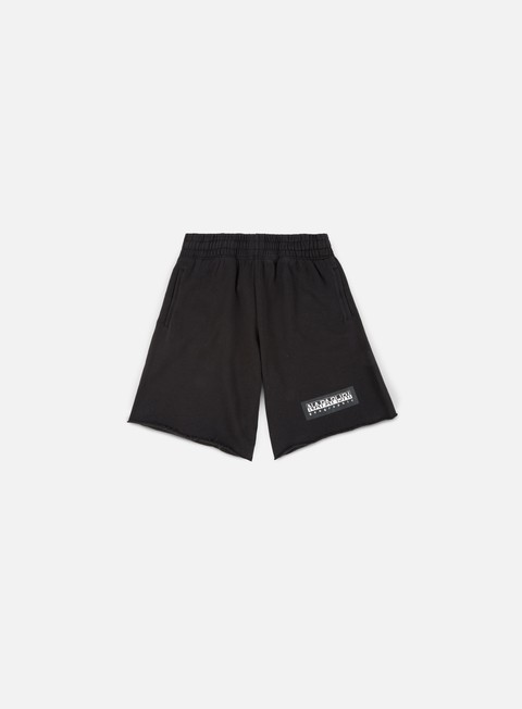 pantaloni napapijri naray fleece short black