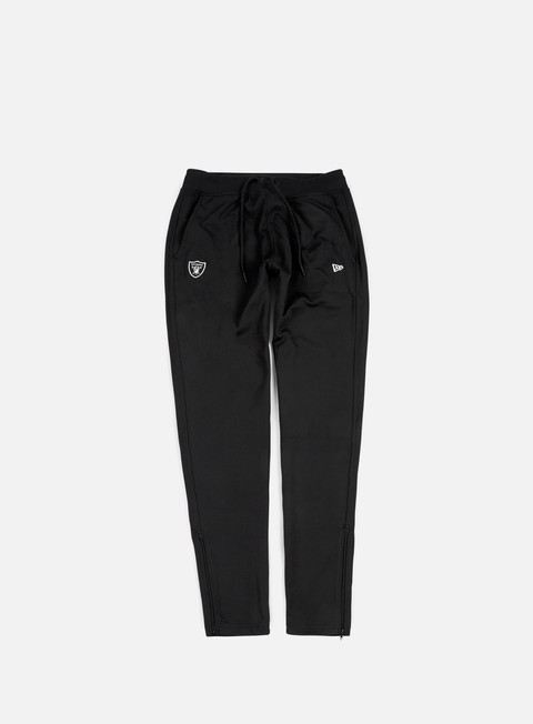 pantaloni new era border edge track pant oakland raiders black
