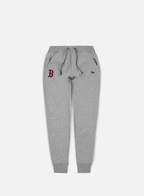 pantaloni new era east coast jogger pant boston red socks light grey heather