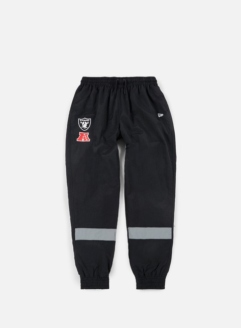 pantaloni new era for track pant oakland raiders black