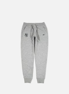 New Era - FT Pant NY Yankees, Light Grey Heather 1