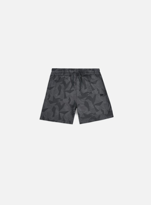 New Era Geometric Camo Shorts