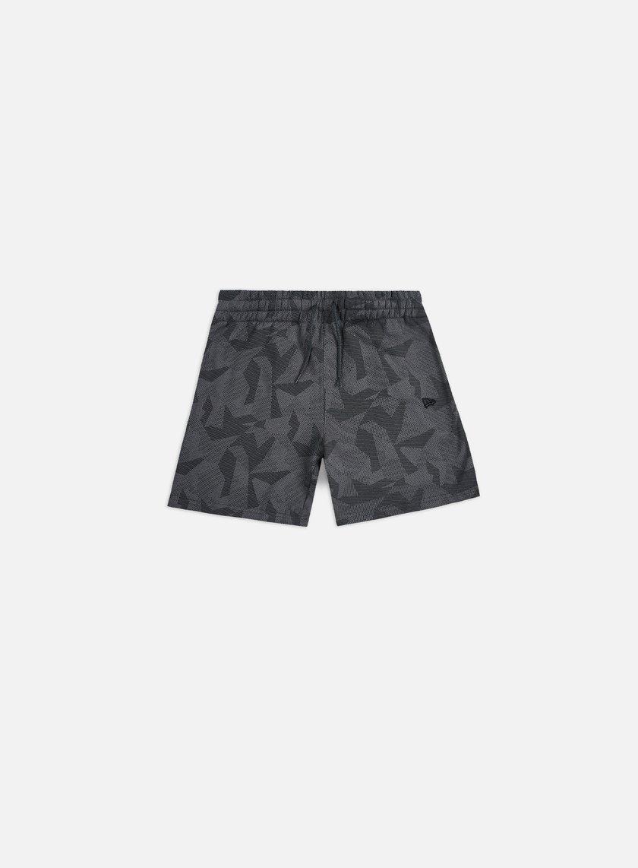 New Era Geometric Camo Shorts