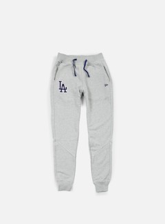 New Era - MLB Team Pant LA Dodgers, Light Grey Heather 1