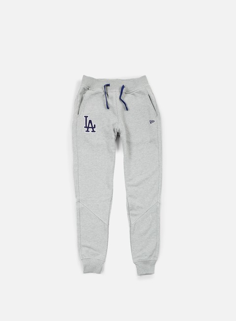 pantaloni new era mlb team pant la dodgers light grey heather