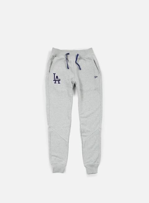 pantaloni new era mlb team pant la dodgers light grey heather