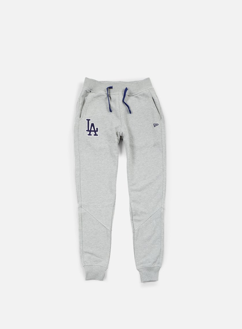 New Era - MLB Team Pant LA Dodgers, Light Grey Heather