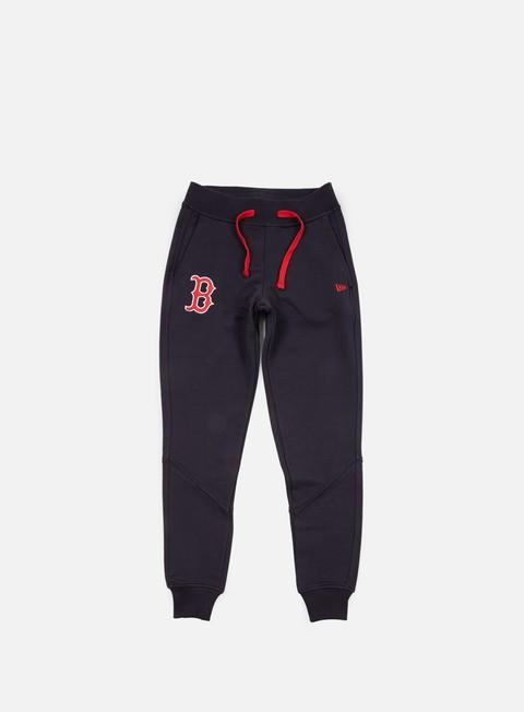 pantaloni new era mlb track pant boston red socks navy
