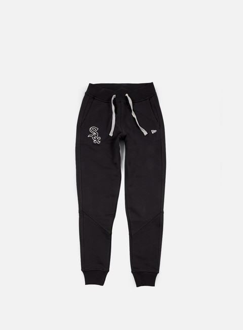 pantaloni new era mlb track pant chicago white socx black