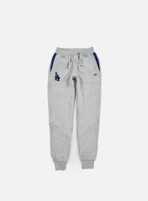 pantaloni new era mlb track pant la dodgers heather grey