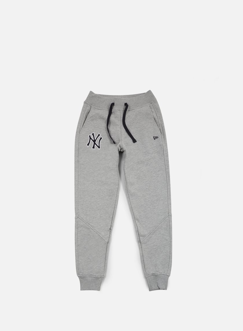 New Era - MLB Track Pant NY Yankees, Light Grey Heather