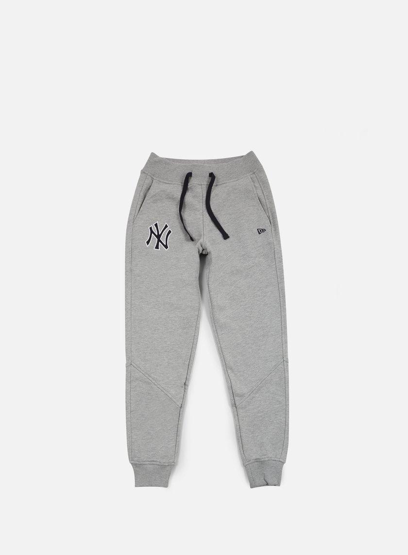 New Era - MLB Track Pant NY Yankees, Light Grey Heather