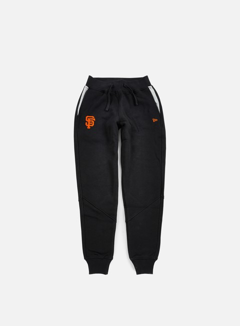 pantaloni new era mlb track pant san francisco giants black