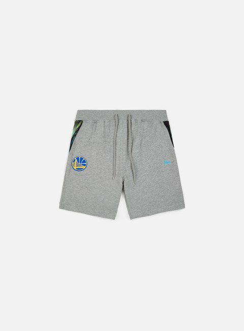 pantaloni new era nba coastal heat short golden state warriors light grey