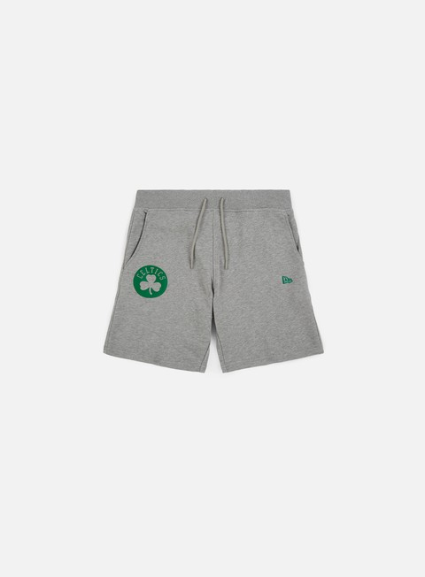 pantaloni new era nba team pop logo short boston celtics light grey heather