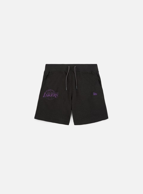 pantaloni new era nba team pop logo short los angeles lakers dark grey