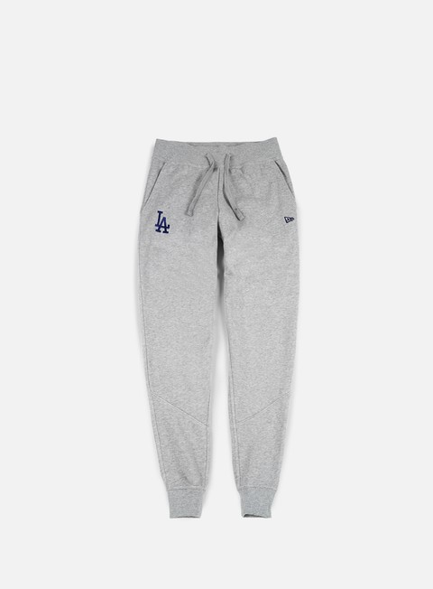 pantaloni new era nos track pant la dodgers heather grey