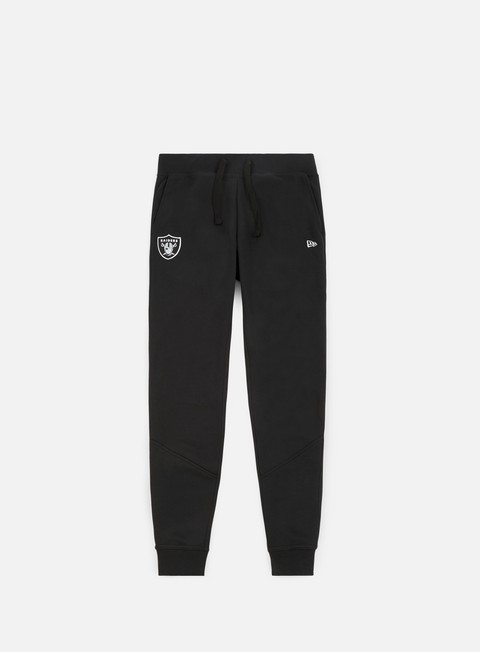 pantaloni new era nos track pant oakland raiders black
