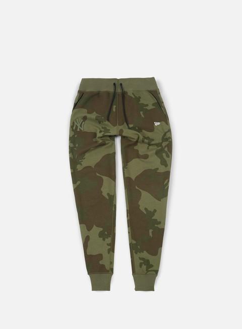 pantaloni new era ntc jogger pant ny yankees olive green