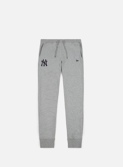 pantaloni new era post grad pack jogger new york yankees light grey heather