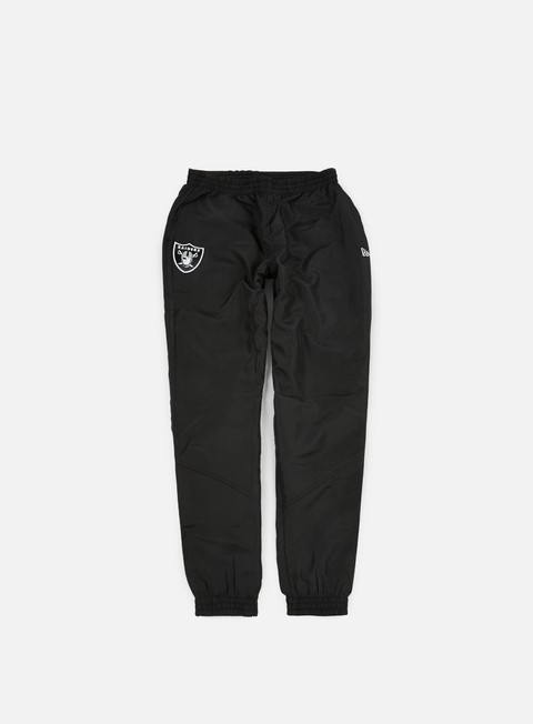 pantaloni new era remix ii woven track pant oakland raiders black