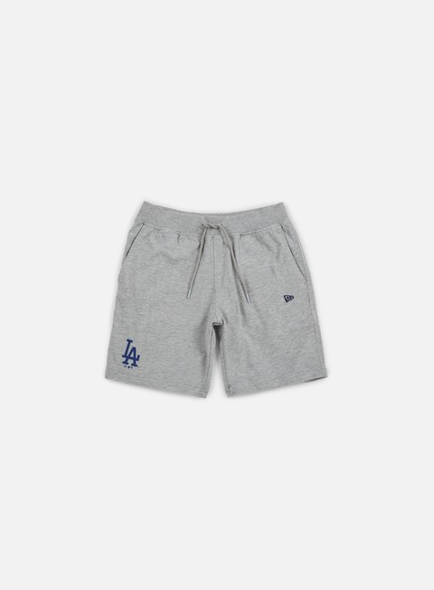 pantaloni new era team app short la dodgers light grey heather