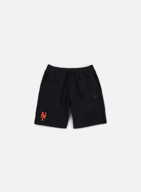 pantaloni new era team app short ny mets black