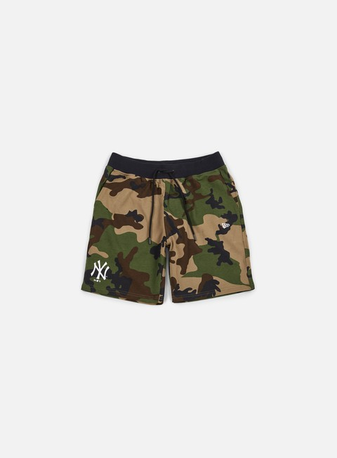 pantaloni new era team app short ny yankees camo