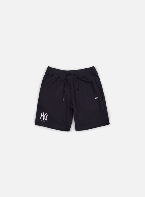 pantaloni new era team app short ny yankees navy