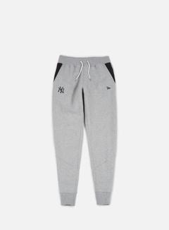 New Era - Team Apparel Fleece Pant NY Yankees, Light Grey Heather 1