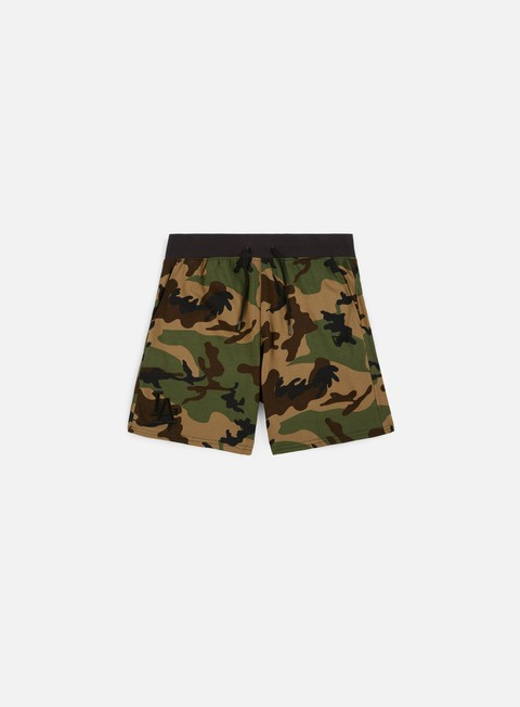 pantaloni new era team apparel short la dodgers woodland camo