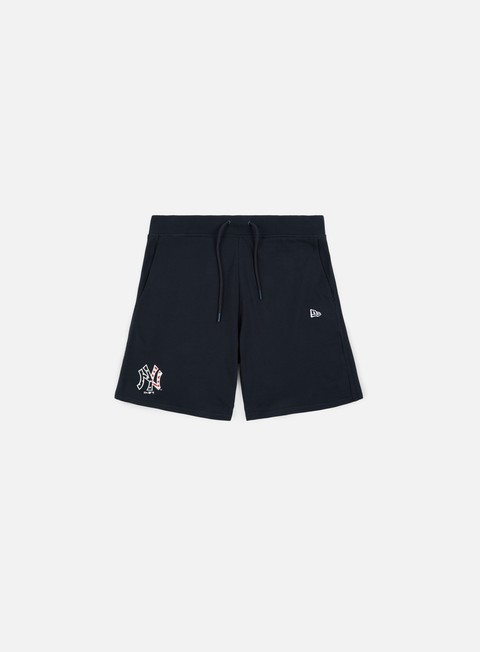 pantaloni new era team apparel short ny yankees navy