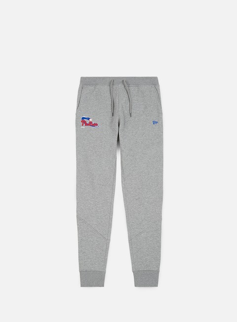 pantaloni new era team apparel track pant philadelphia phillies light grey
