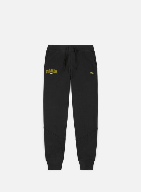 pantaloni new era team apparel track pant pittsburgh pirates black